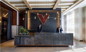 Front Desk at Hotel Vin